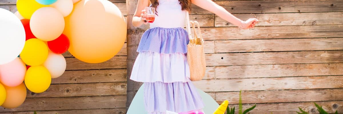 Our Summer Pool Party with ALDI! by top Houston lifestyle blogger Ashley Rose of Sugar & Cloth