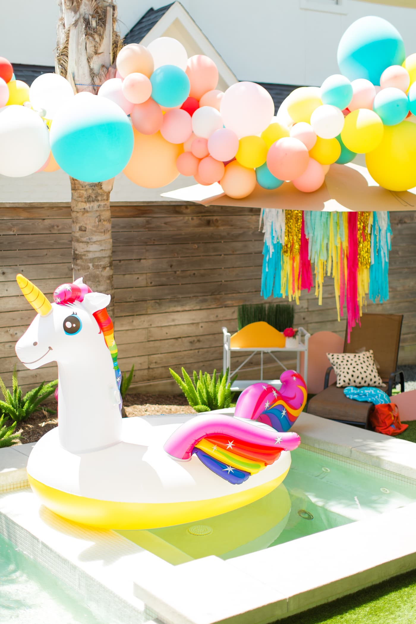 Our Summer Pool Party with ALDI!