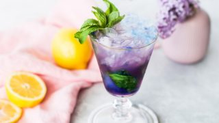 Magic Color Changing Mint Julep Recipe