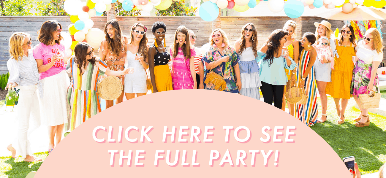 Hosted: Our Summer Pool Party with Aldi! by top Houston lifestyle blogger Ashley Rose of Sugar & Cloth
