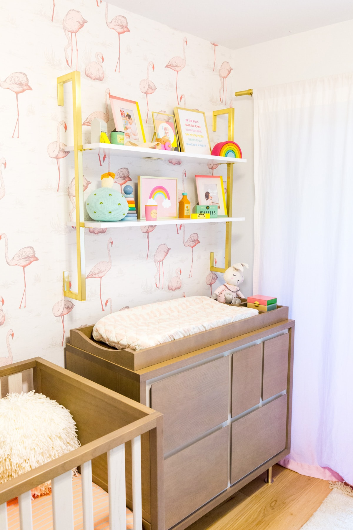 Yellow Girl Nursery