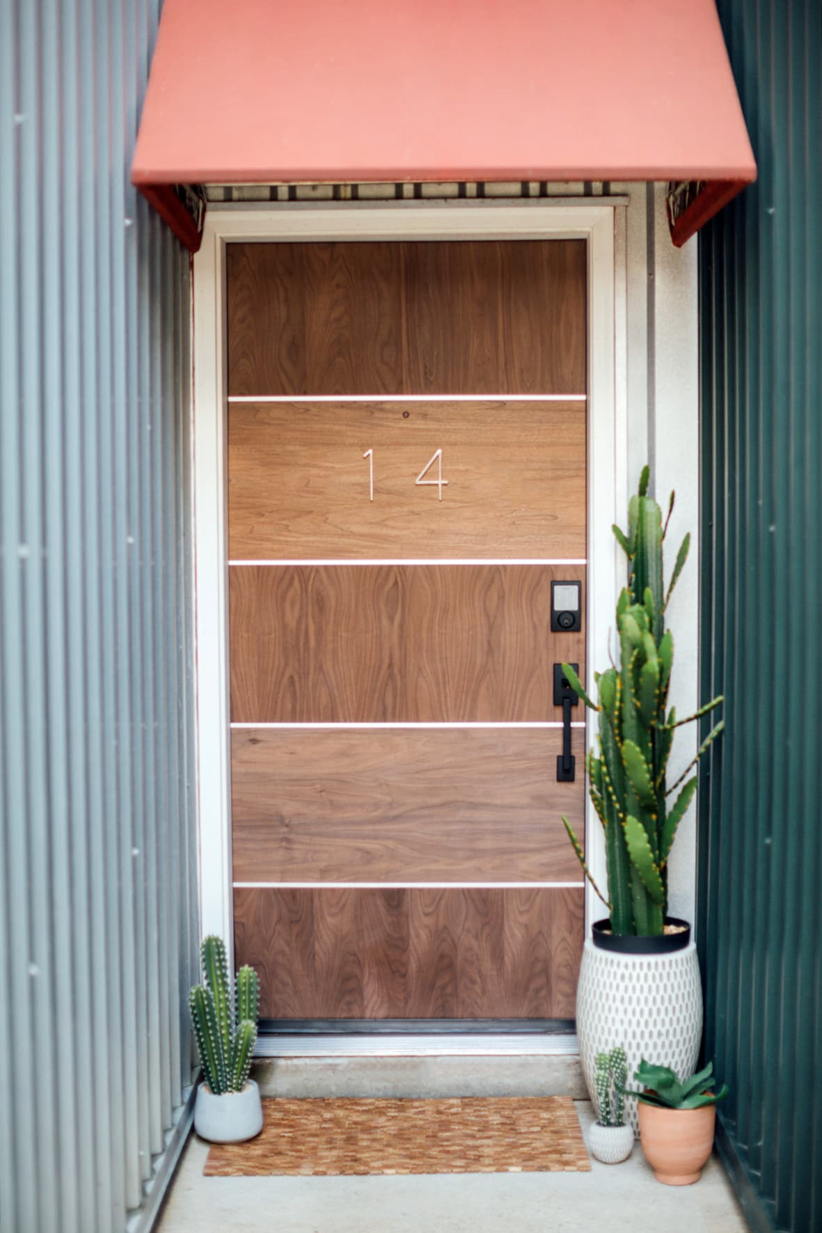 Sugar & Cloth Casa: Our Front Door Makeover Before + After by top Houston lifestyle blogger Ashley Rose of Sugar & Cloth