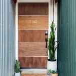 Sugar & Cloth Casa: Our Front Door Makeover Before + After