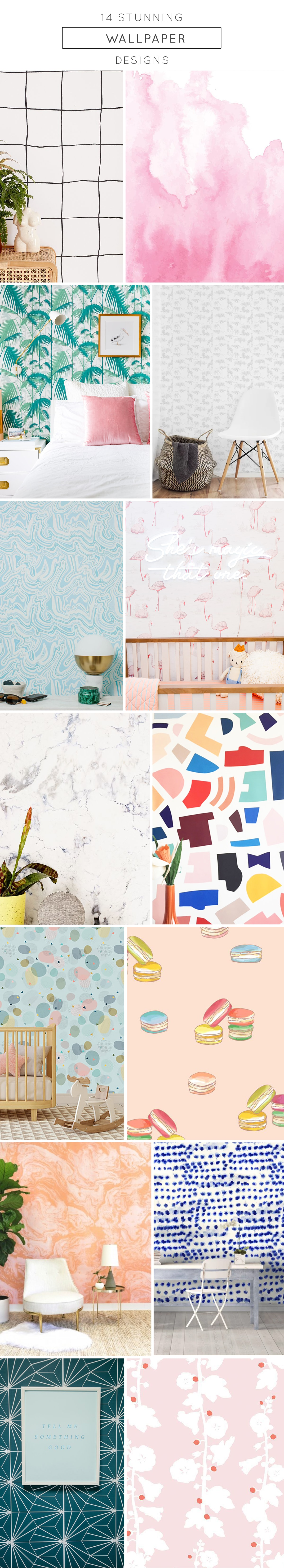 photo of our favorite quirky wallpaper designs