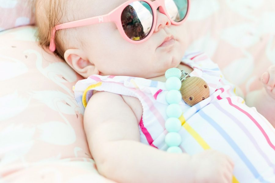 12 Modern Pacifier Clips by top Houston lifestyle blogger Ashley Rose of Sugar & Cloth