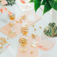 DIY Tasting Flight Boards by top Houston lifestyle blogger Ashley Rose of Sugar and Cloth #DIY #entertaining #almonds #appetizers #tastingflight