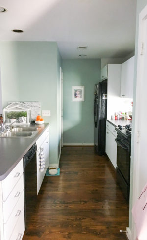 Sugar & Cloth Casa: Our Kitchen Makeover Design Plan & Before Photos!