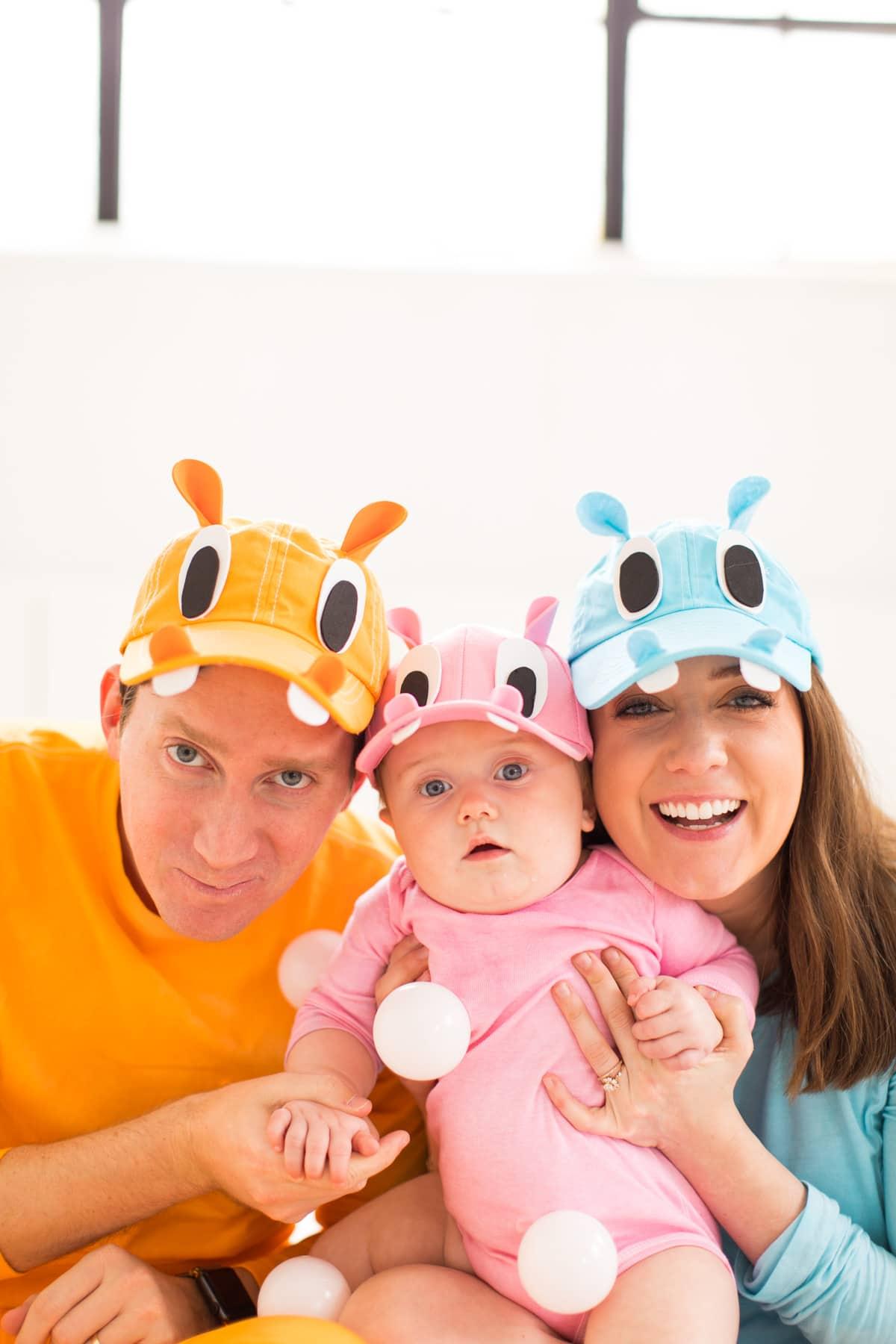 Our Family Diy Hungry Hippos Costume Idea Sugar Amp Cloth