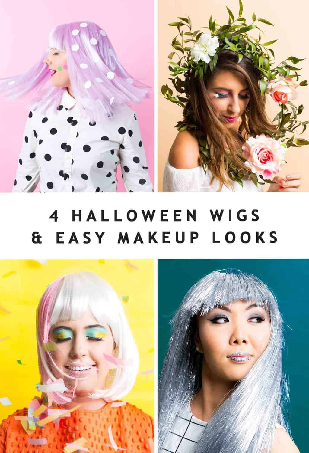 Halloween Wigs Diy Wig And Lash Combinations For Halloween