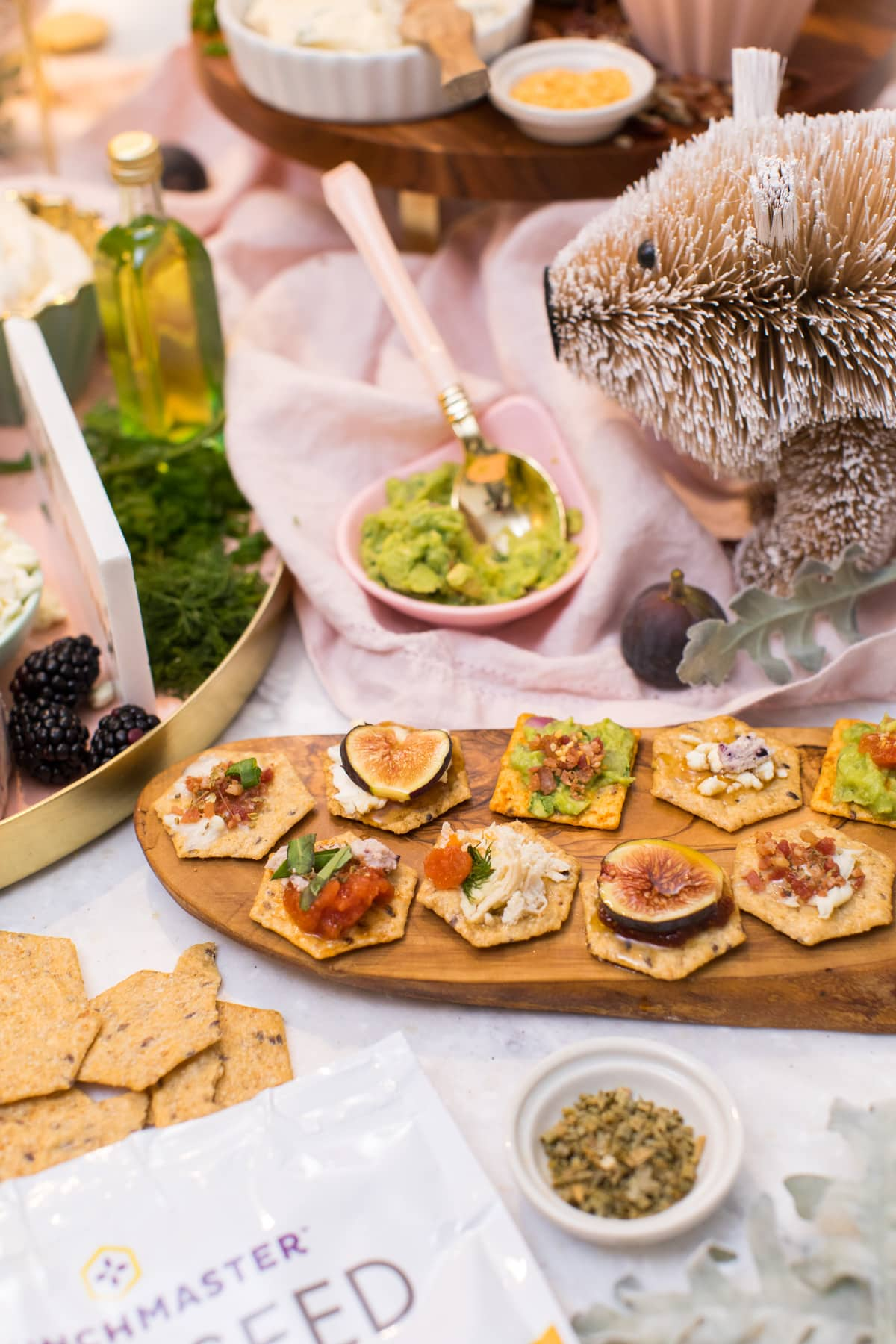 bruschetta ideas - How to Make a Bruschetta Recipe Bar by top Houston lifestyle blogger Ashley Rose of Sugar & Cloth #recipe #bruschetta #bar #ideas #entertaining #howto #easy
