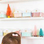 Colorful Houses DIY Advent Calendar