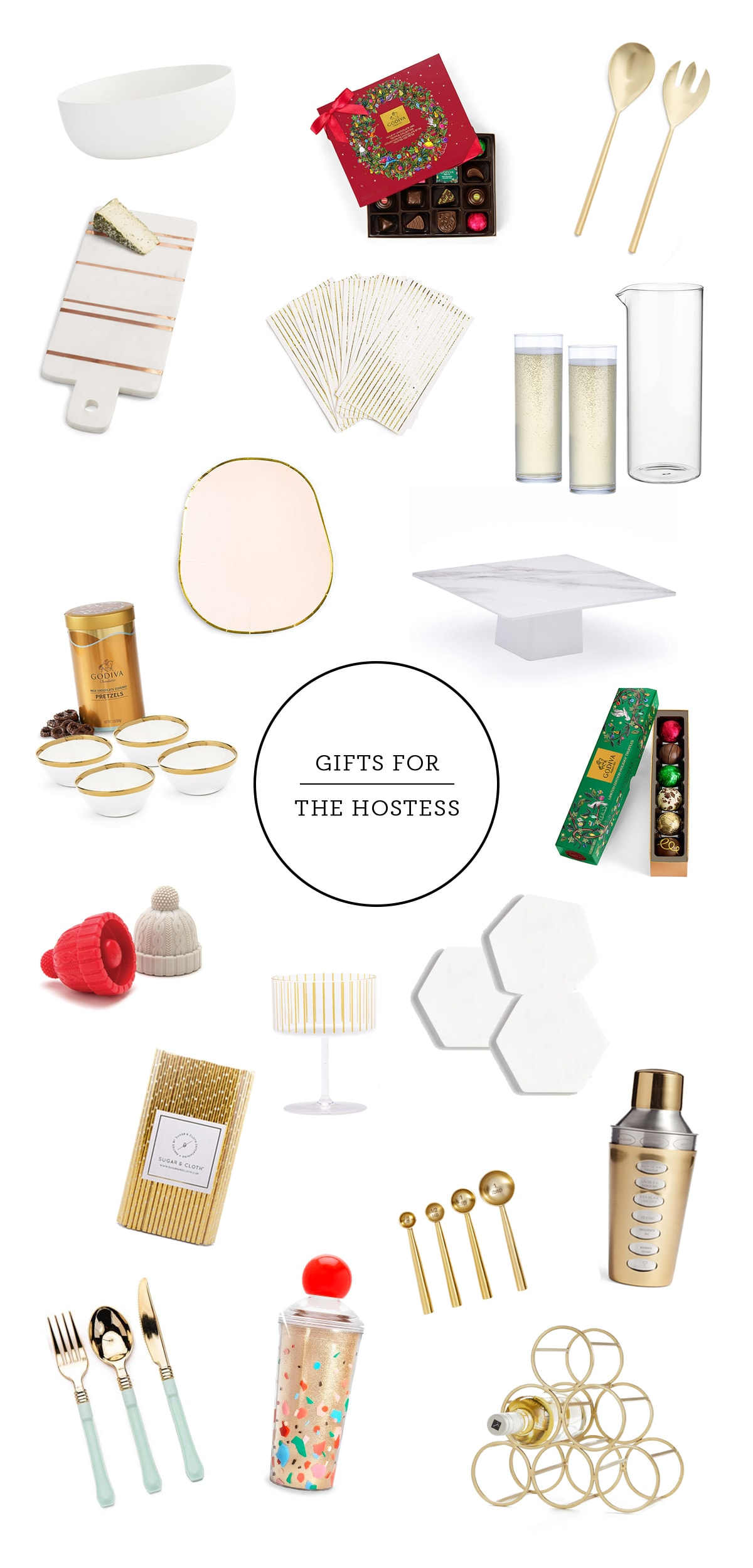 Hostess Gift Guide by Houston lifestyle blogger Ashley Rose of Sugar and Cloth -- #giftguide #chirstmas #entertaining #holidayentertaining #presents
