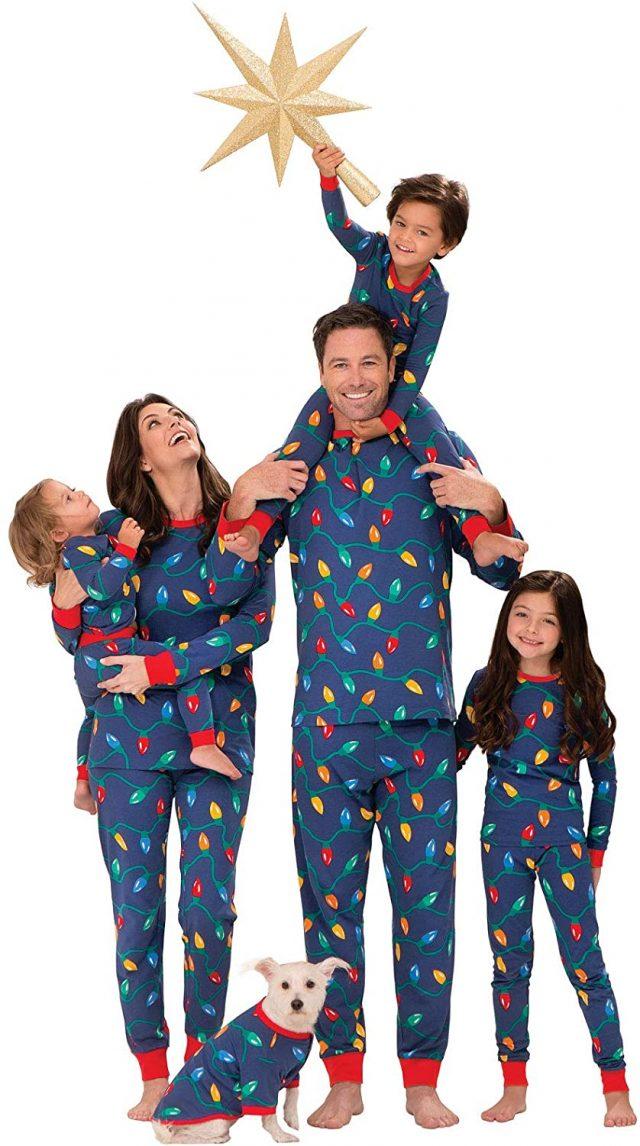 photo of Holiday Lights Pajamas Set