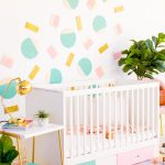 Abstract Shapes DIY Nursery Wall Decor