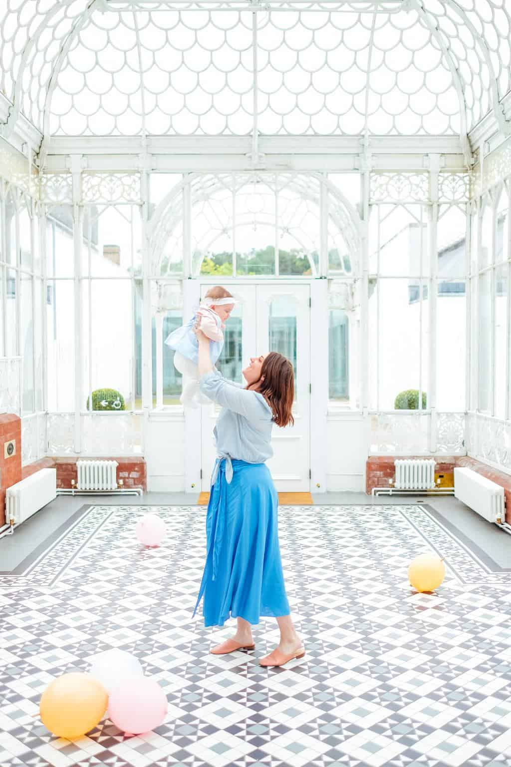 Mommy and Me photo at Horniman Gardens! Photos of Our British Isles Cruise with Family! | Part 1 # travel #familytravel #cruise #decor #design #britishisles