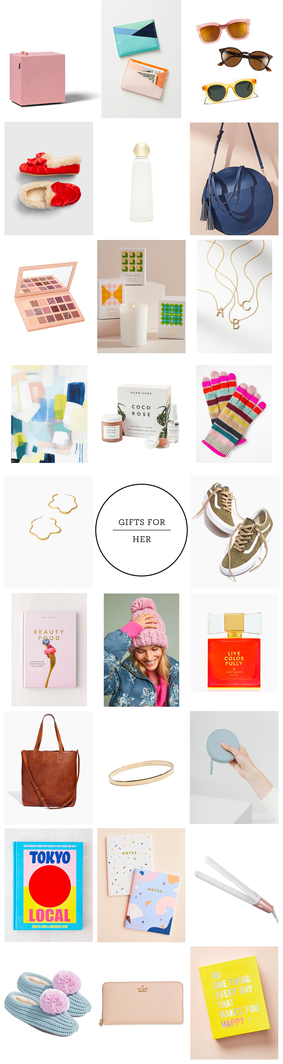 Shopping guide Gifts for her by houston lifestyle and diy blogger Ashley Rose with Sugar and Cloth #holidays #shoppingguide #christmas #womensgifts #giftsforher #holidayshopping #chirstmasshopping