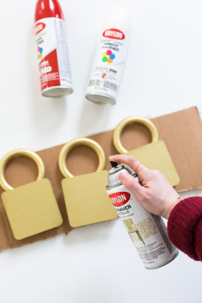 all the materials you need for Jumbo Lights Outdoor DIY Christmas Decorations! by top Houston lifestyle blogger Ashley Rose of Sugar & Cloth #DIY #howto #christmas #holidays #decorations #decor #home #frontdoor #entrance