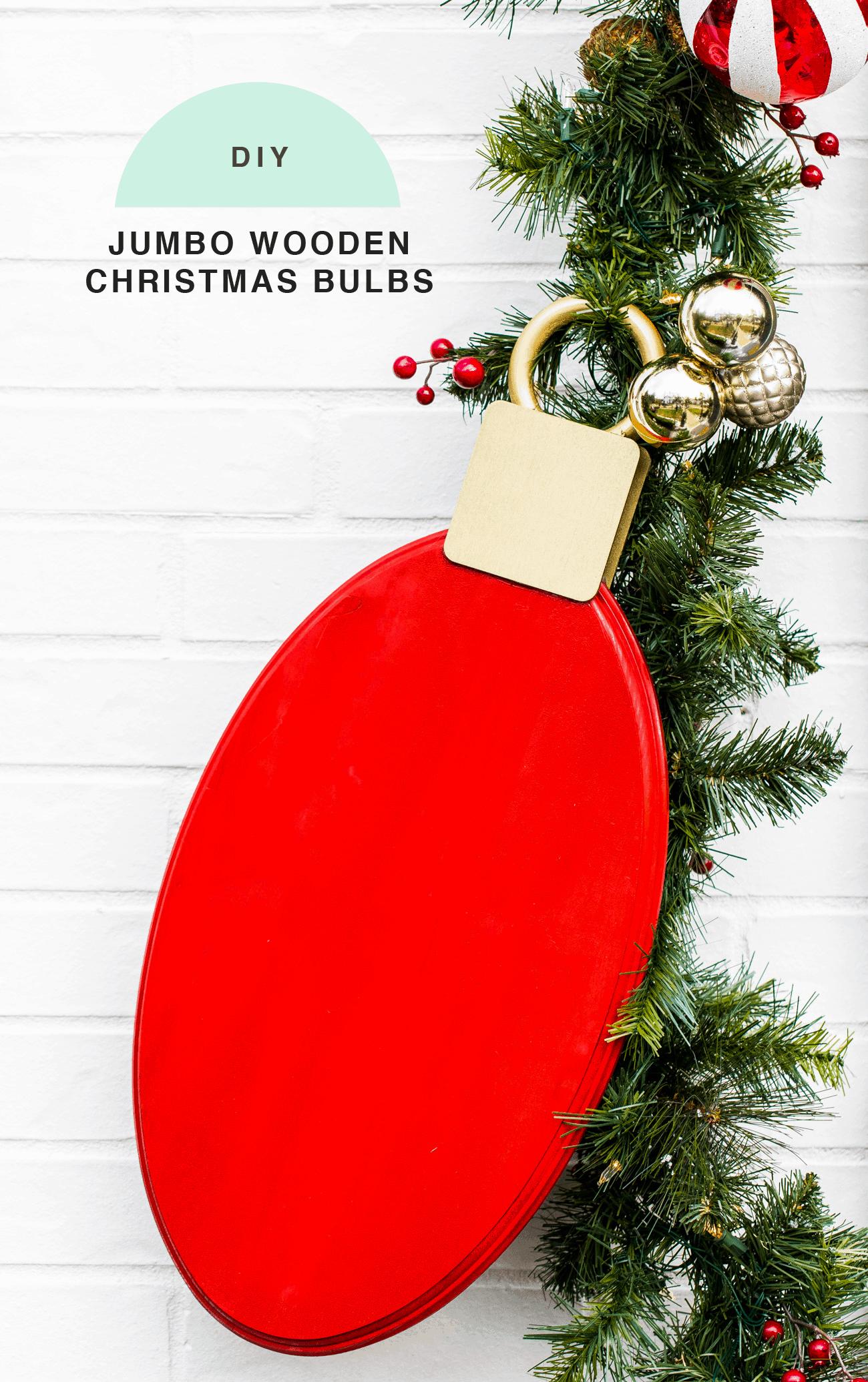 Outdoor Christmas Door Decorations Diy Wood Lights Christmas Garland