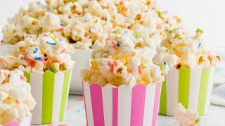 White Chocolate Funfetti Popcorn Recipe
