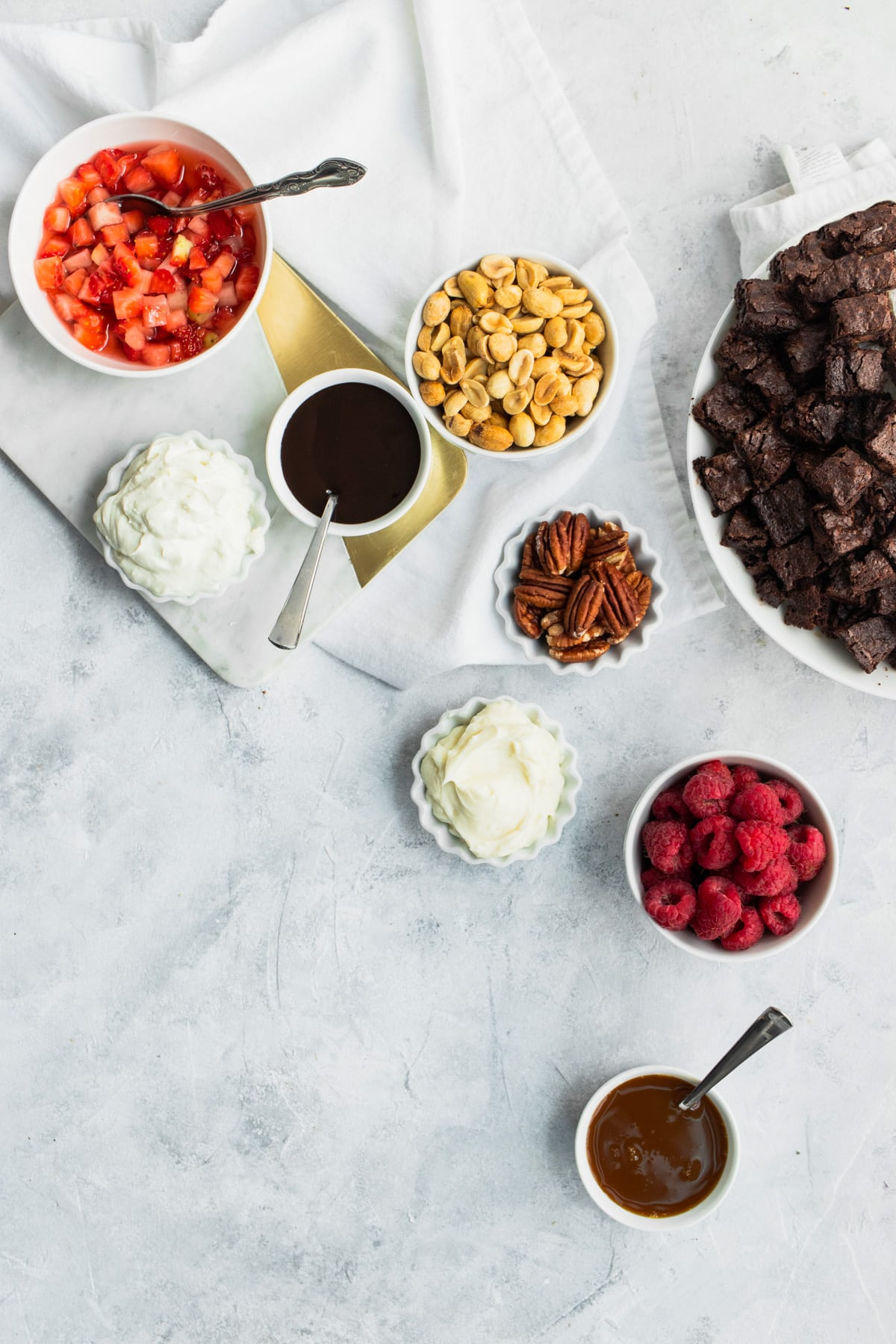 Brownie Parfaits Recipe Toppings