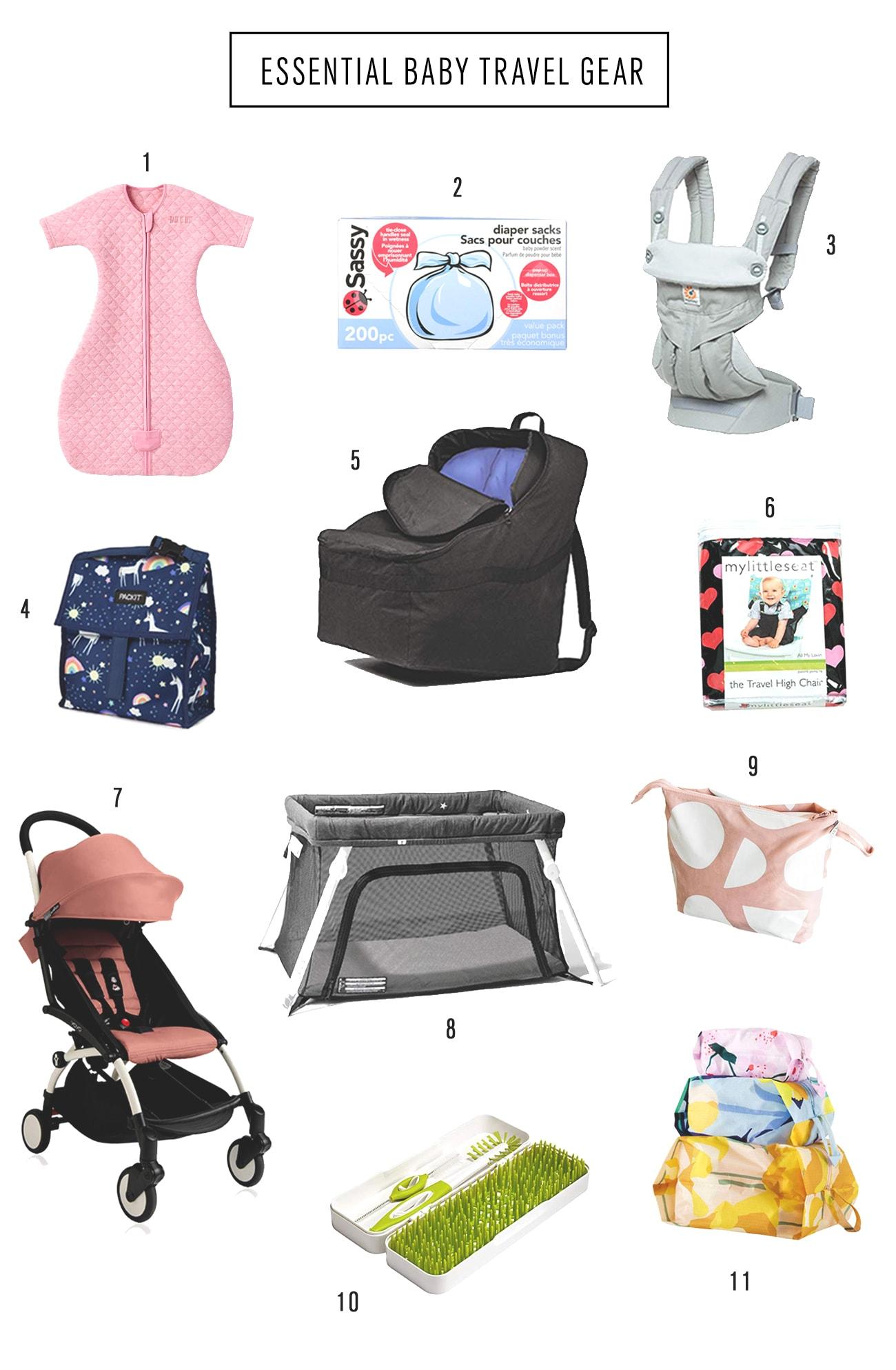 Essential Baby Travel Gear