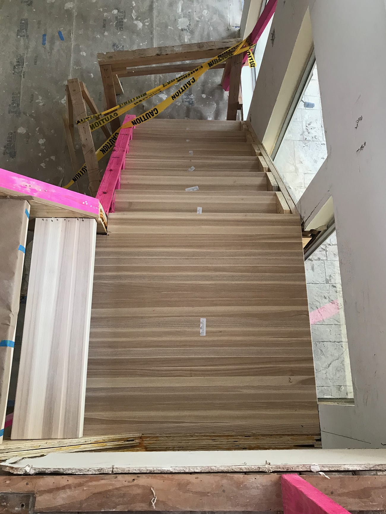 ash wood thick stair treads - - Sugar & Cloth Casa: Updating An Old Staircase by top Houston lifestyle blogger Ashley Rose of Sugar & Cloth