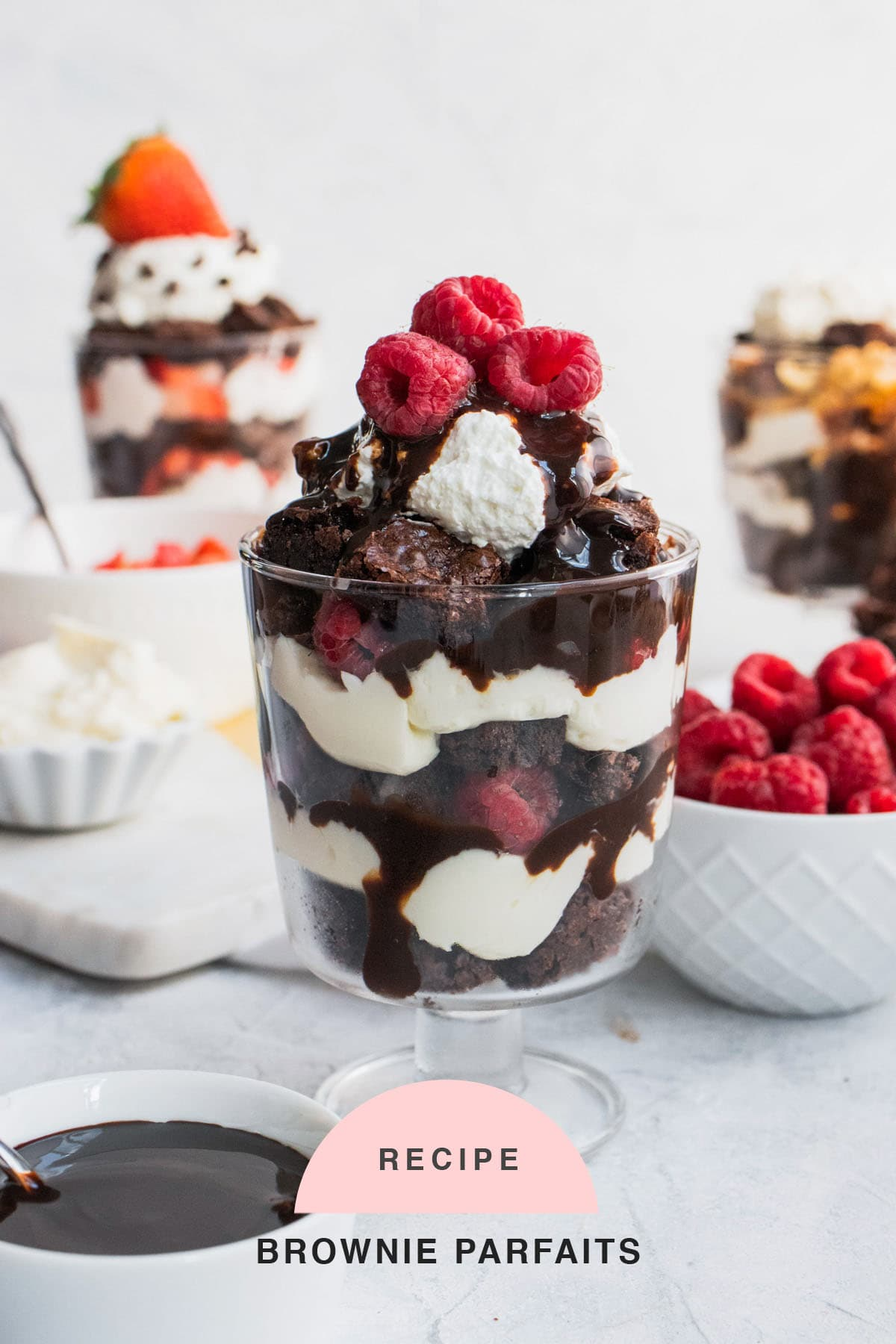 RECIPE Brownie Parfaits