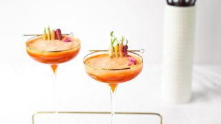 24 Carrot Cocktail Recipe