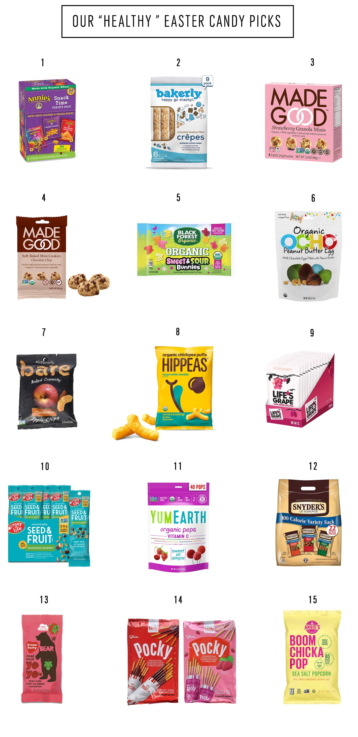 Easter Basket Candy Alternatives by top Houston lifestyle blogger Ashley Rose of Sugar & Cloth