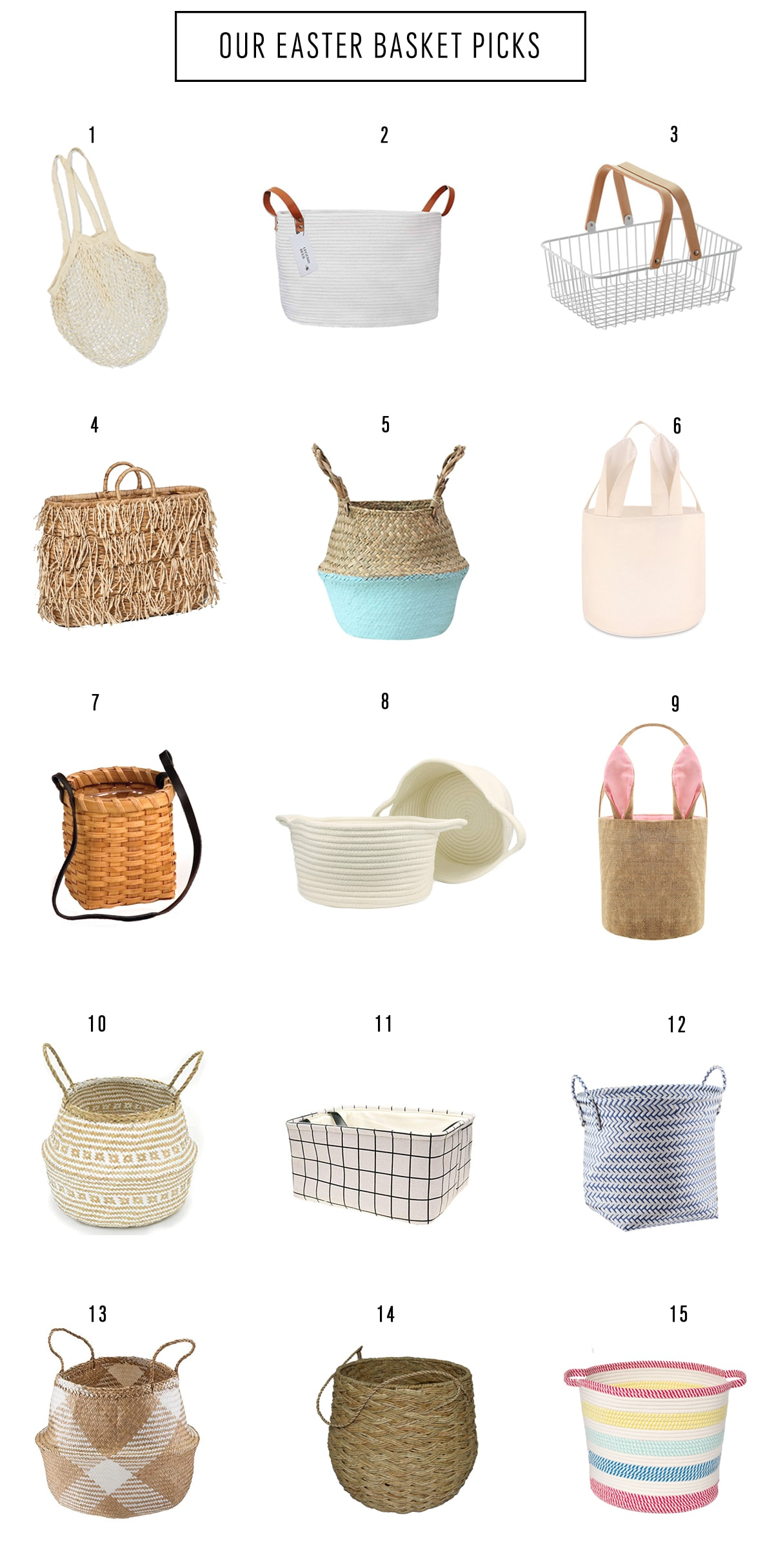 Easter Basket Picks by top Houston lifestyle blogger Ashley Rose of Sugar & Cloth