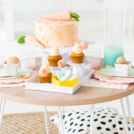 Easter Kid's Table Setting by top Houston lifestyle blogger Ashley Rose of Sugar & Cloth