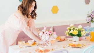 A Perfectly Pastel Easter Table Idea