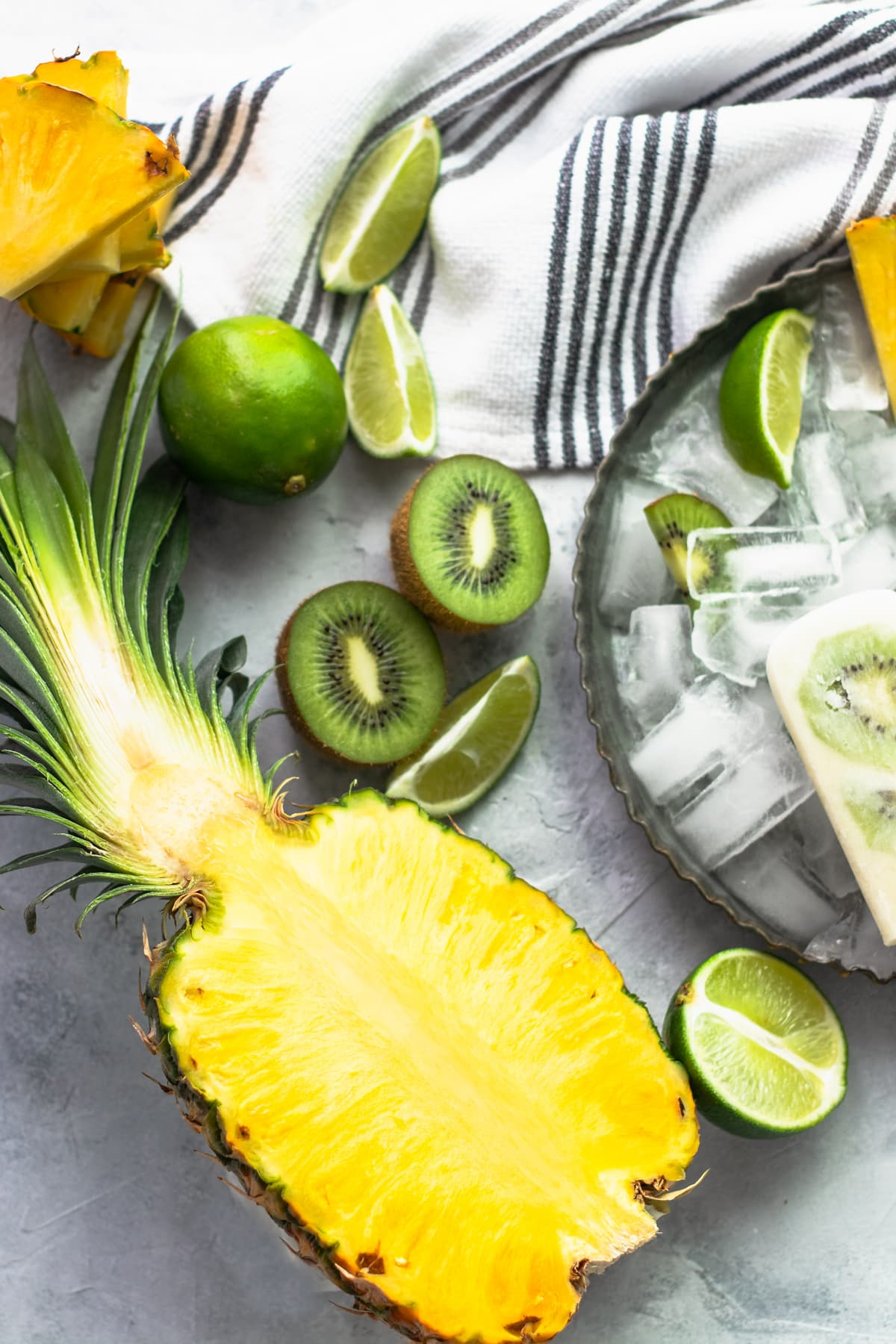 Whole 30 Tropical Popsicles Ingredients by top Houston lifestyle blogger Ashley Rose of Sugar & Cloth