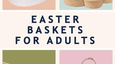 photo of our favorite Easter baskets for adults by top Houston lifestyle blogger Ashley Rose of Sugar & Cloth