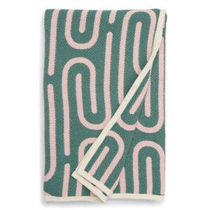 Abstract Throw Blanket Home Decor Dusen Dusen