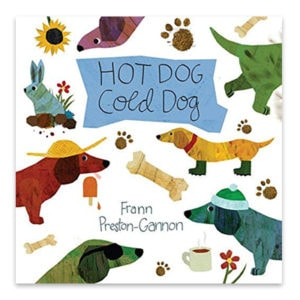 Hot Dog Cold Dog Book Kids by top Houston lifestyle blogger Ashley Rose of Sugar & Cloth