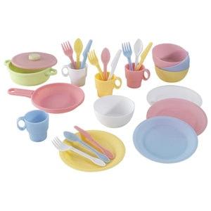KidKraft Cookware Set Kids by top Houston lifestyle blogger Ashley Rose of Sugar & Cloth