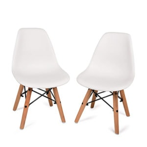 Mid Century Chairs Kids by top Houston lifestyle blogger Ashley Rose of Sugar & Cloth