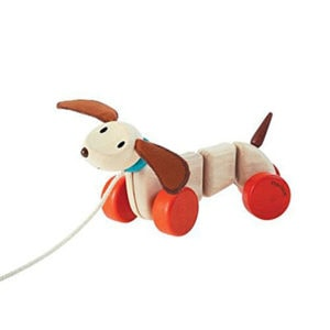 Puppy Pull-A-Long Toy Kids by top Houston lifestyle blogger Ashley Rose of Sugar & Cloth