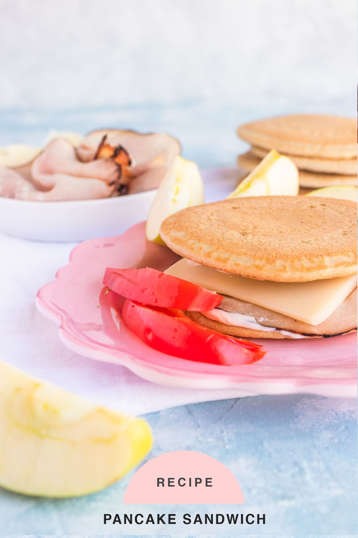 RECIPE Pancake Sandwich by top Houston lifestyle blogger Ashley Rose of Sugar & Cloth