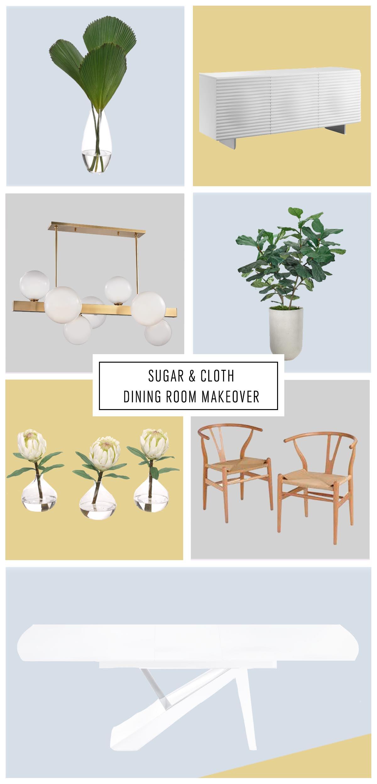 dining room furniture - One Room Challenge Week 3: The Dining Room Design Plan by top Houston lifestyle blogger Ashley Rose of Sugar & Cloth