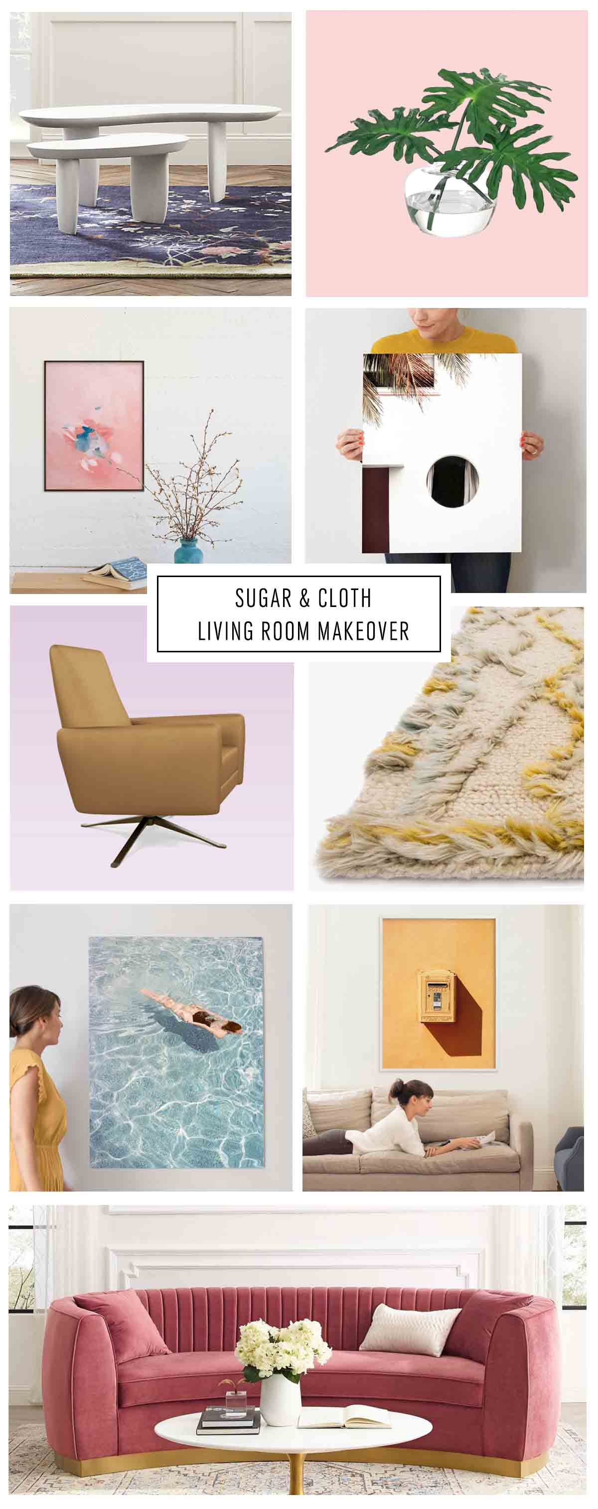 Sugar & Cloth Living Room by top Houston lifestyle blogger Ashley Rose of Sugar & Cloth One Room Challenge