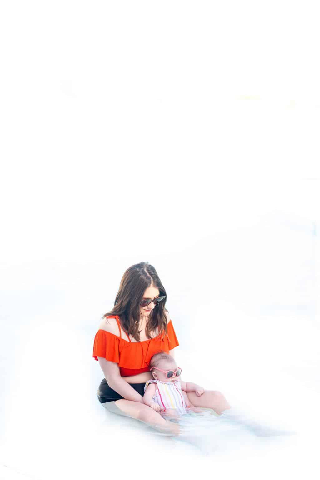 Turks & Caicos Ashley & Gwen by top Houston lifestyle blogger Ashley Rose of Sugar & Cloth