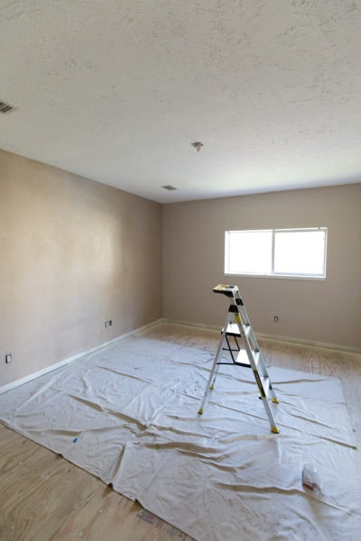 Gwen's old bedroom view - Sugar & Cloth Casa: Before & After of Installing Skylights in The New House