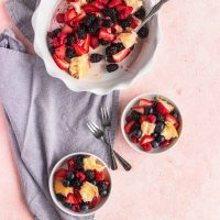 Berry Panzanella Salad Recipe