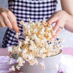 photo of an easy flavored popcorn recipe by sugar and cloth