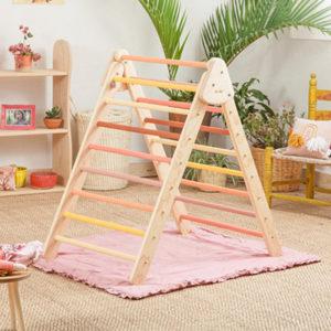Wiwikura Toddler Pikler Climbing Triangle Kids