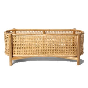 Rattan Cane Plant Stand