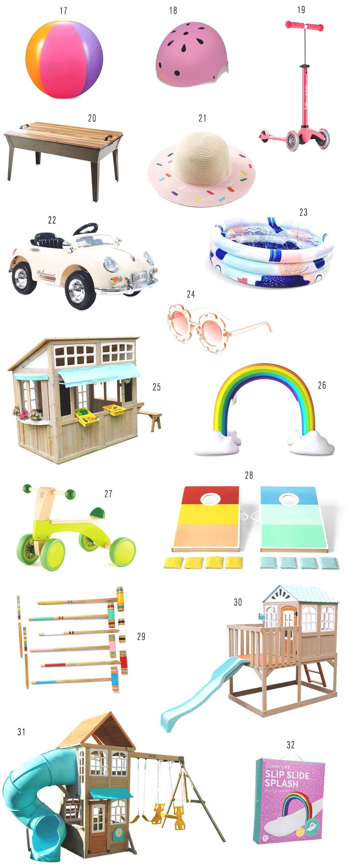 The Best Modern Outdoor Backyard Toys Shopping Guide by top Houston lifestyle blogger Ashley Rose of Sugar & Cloth