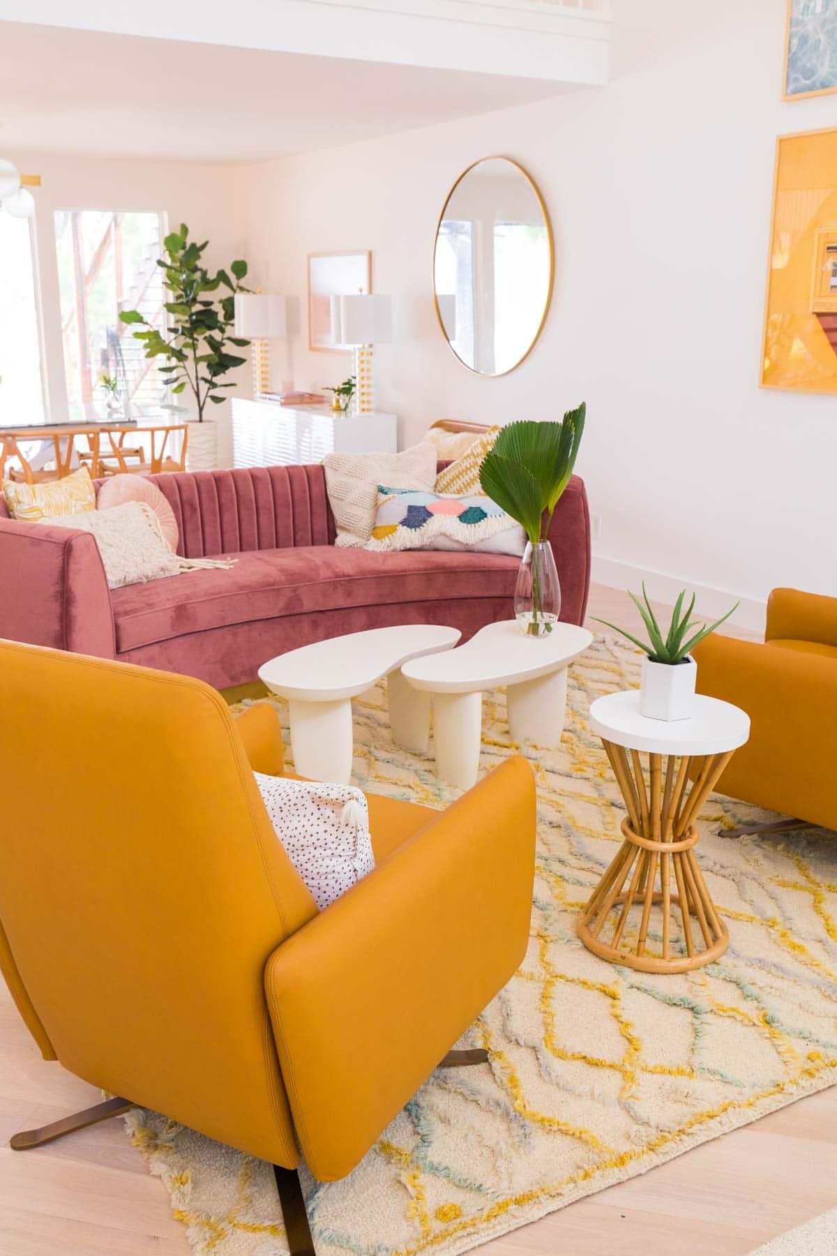 One Room Challenge Living Room